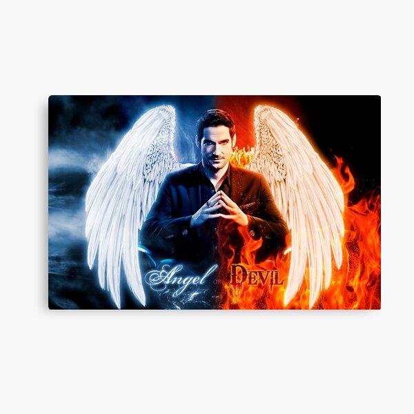 Lucifer - Angel or Devil? Canvas Print