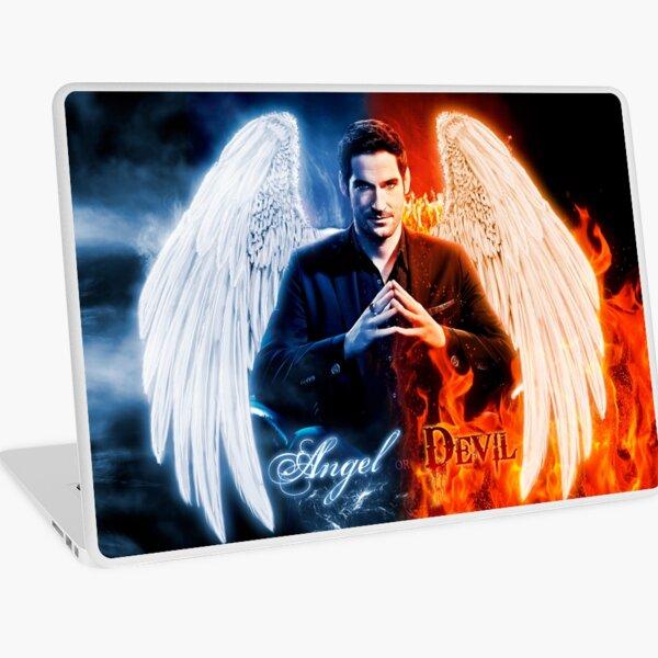Lucifer - Ange ou diable? Skin adhésive d'ordinateur
