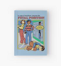 Assume the Fetal Position  Hardcover Journal