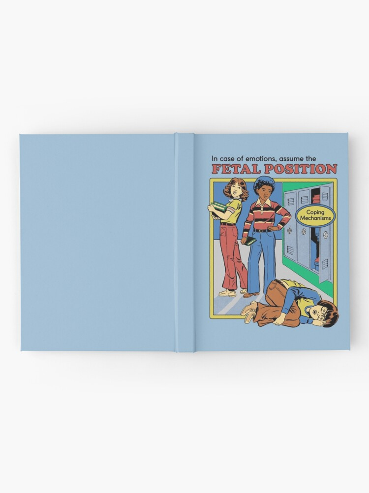Alternate view of Assume the Fetal Position  Hardcover Journal
