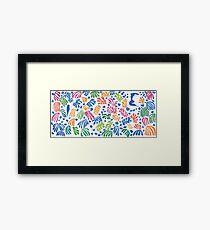 Henri Matisse Cut-Out Framed Print
