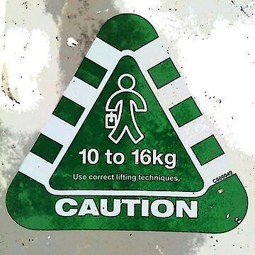 Caution I'm a bit heavy! by MrMinty