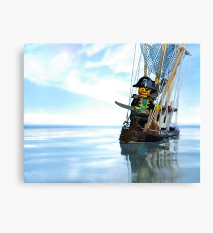 Pirate of the Bathtub Canvas Print