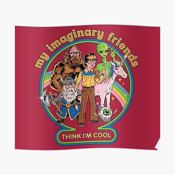 My Imaginary Friends Poster