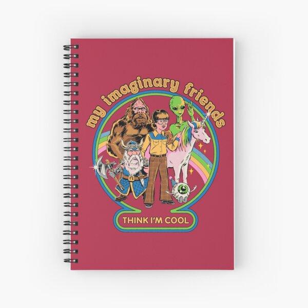 Mis amigos imaginarios Cuaderno de espiral