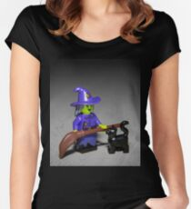 Wacky Witch Women's Fitted Scoop T-Shirt