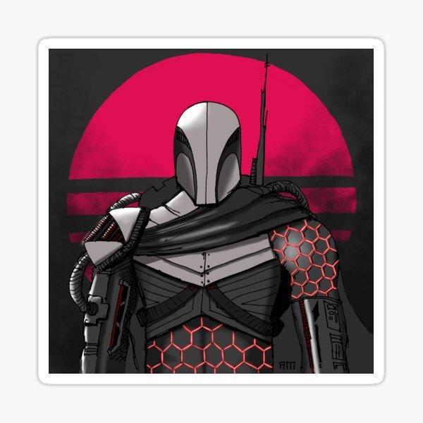 Futuristic Armor Stickers Redbubble