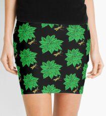 Nature in Green Mini Skirt