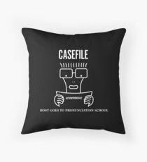 Casefile True Crime – Descendents Tribute (Light) Throw Pillow