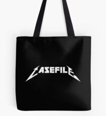 Casefile True Crime – Casefile Metallica Tribute (Light) Tote Bag