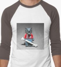 Werewolf Men's Baseball ¾ T-Shirt
