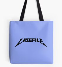 Casefile True Crime – Casefile Metallica Tribute (Dark) Tote Bag