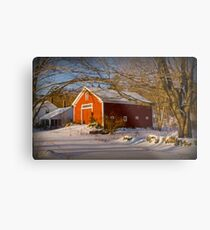 Fellows Farm Metal Print