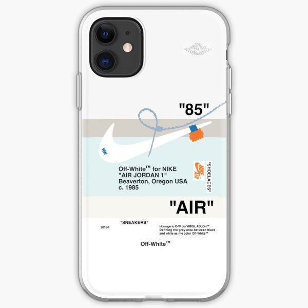 air on2 iPhone Soft Case