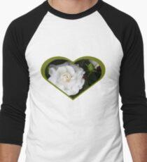 Romantic Night ~ Scent of Gardenias Baseball ¾ Sleeve T-Shirt