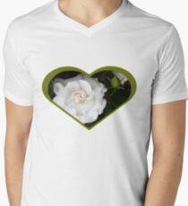 Romantic Night ~ Scent of Gardenias V-Neck T-Shirt