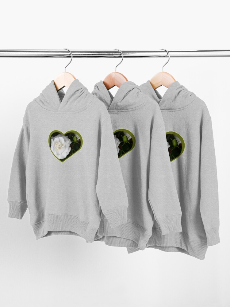 Alternate view of Romantic Night ~ Scent of Gardenias Toddler Pullover Hoodie