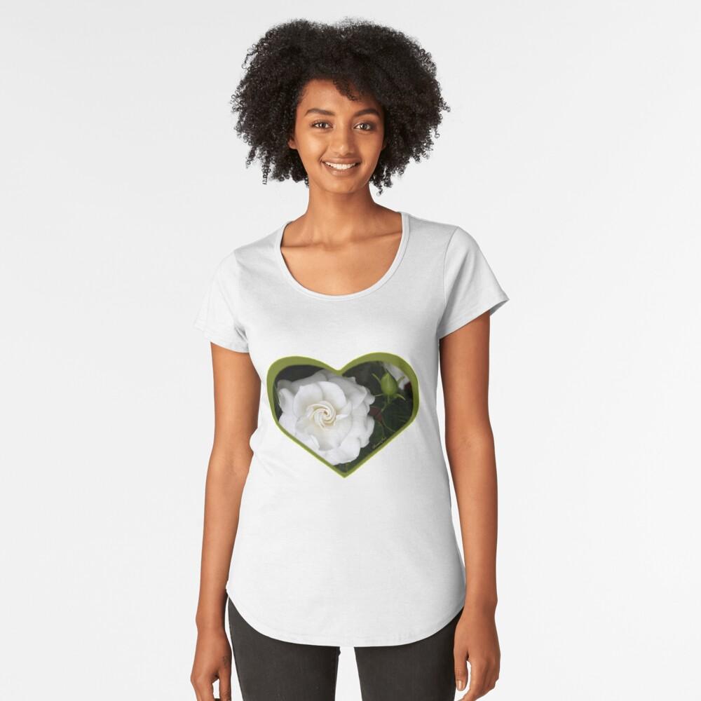 Romantic Night ~ Scent of Gardenias Premium Scoop T-Shirt