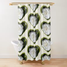 Romantic Night ~ Scent of Gardenias Shower Curtain