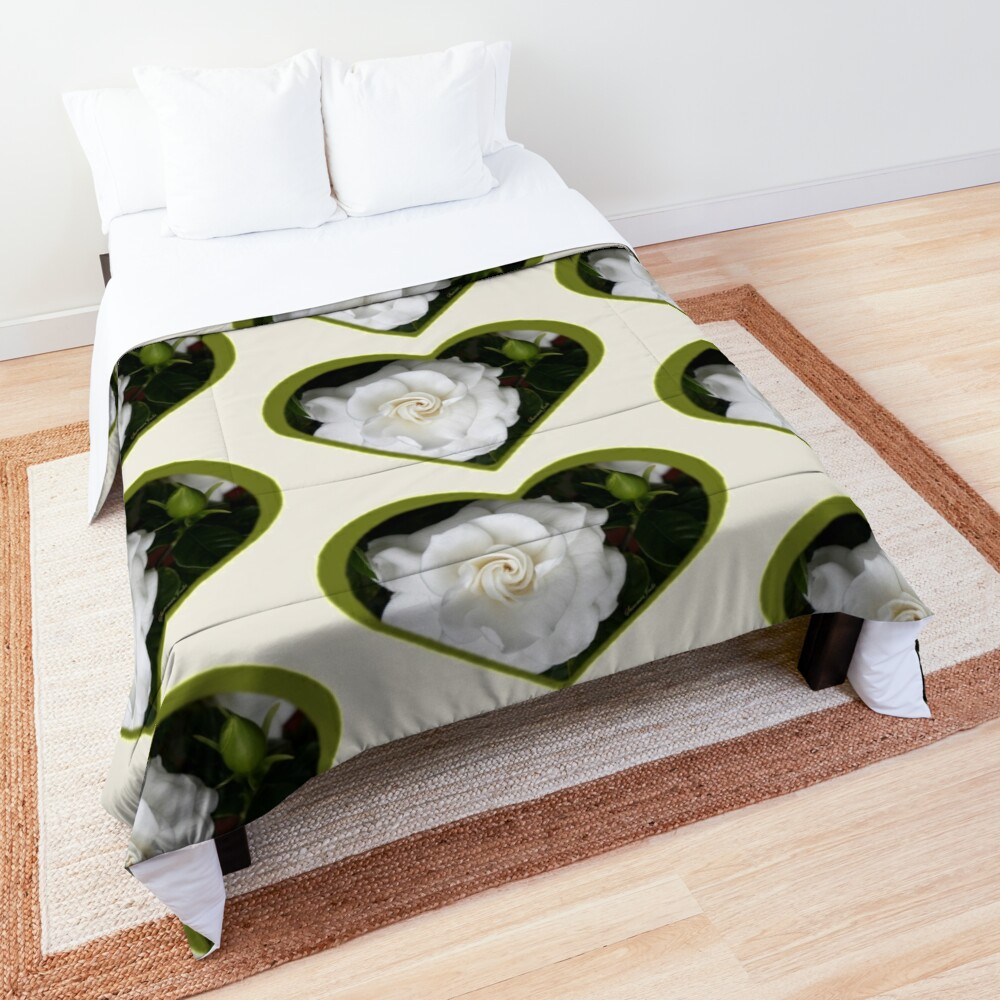 Romantic Night ~ Scent of Gardenias Comforter