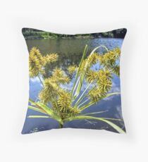 It is just Grass Seed Throw Pillow