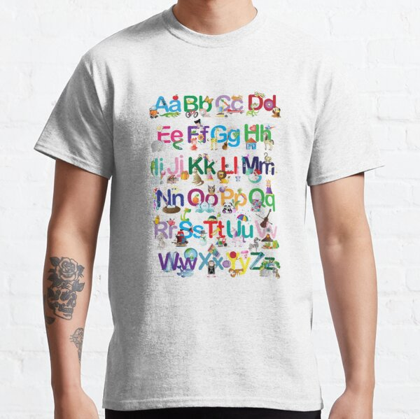 Alphabet for kids Classic T-Shirt