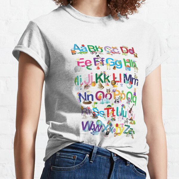 Alphabet for kids Classic T-Shirt