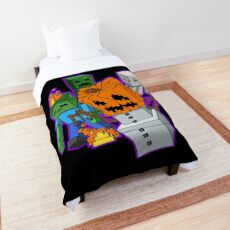 Minecraft Monsters Comforter