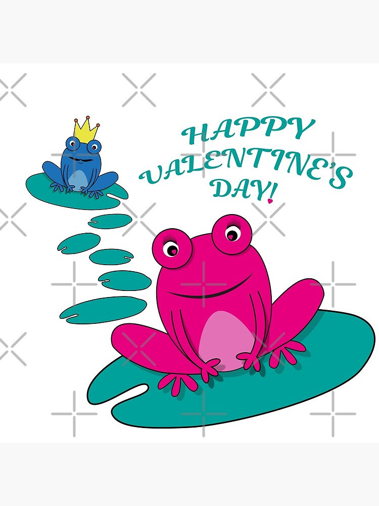 Frogs Valentine by PrintablesP