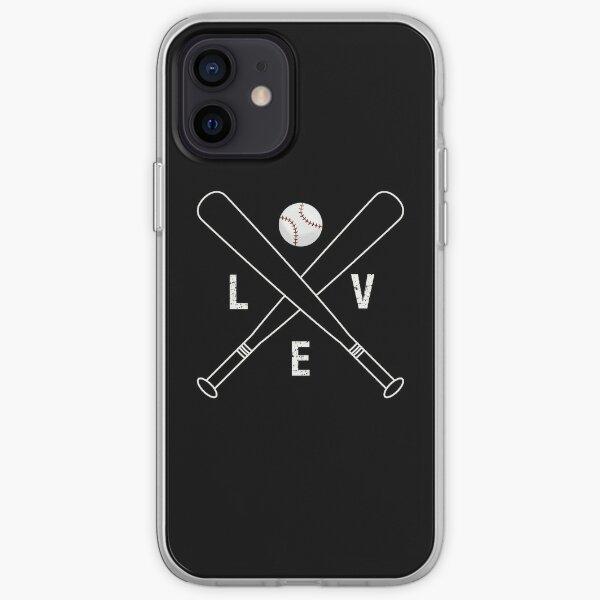 I Baseball Love iPhone Soft Case