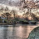 Lancaster Canal.  by Lilian Marshall