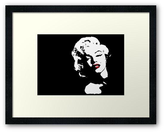 Marilyn Monroe by Lauren Eldridge-Murray