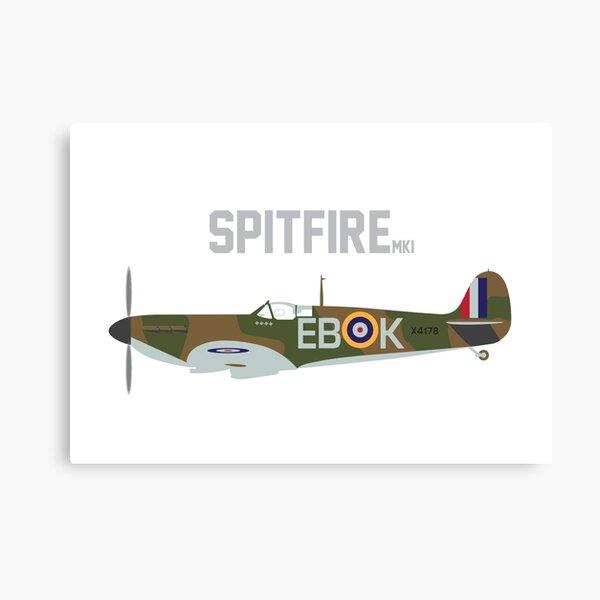 Spitfire WW2 Canvas Print