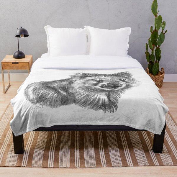 Wombat Throw Blanket