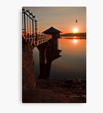 Cropston Reservoir  Canvas Print