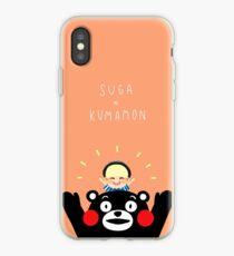 Suga x Kumamon iPhone Case
