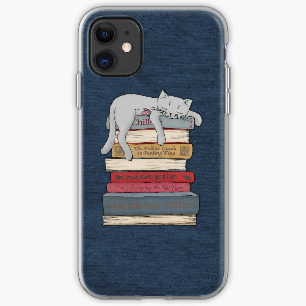 How to Chill Like a Cat iPhone Soft Case
