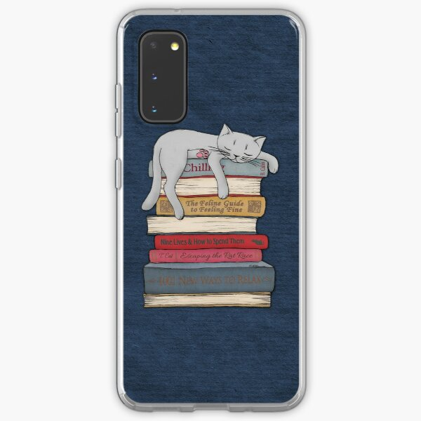 How to Chill Like a Cat Samsung Galaxy Soft Case