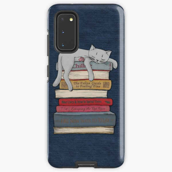 How to Chill Like a Cat Samsung Galaxy Tough Case