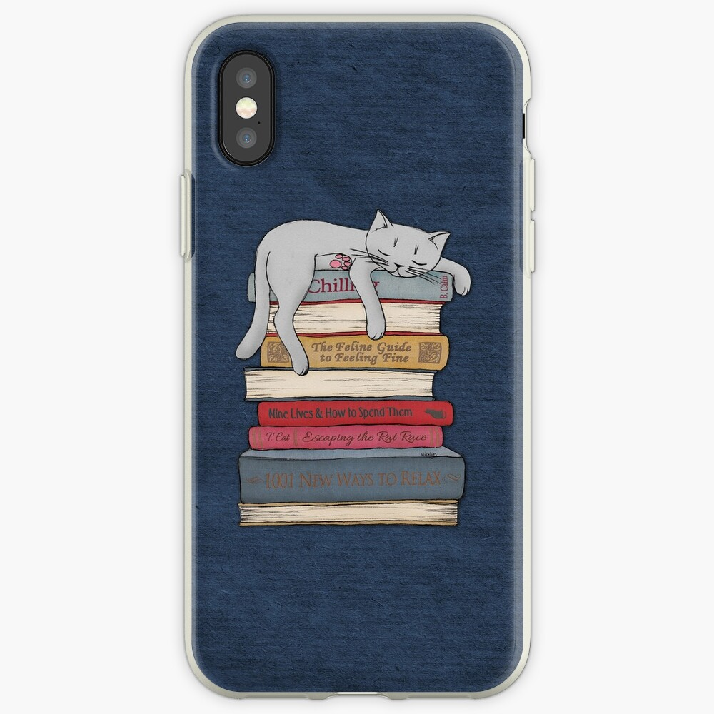 How to Chill Like a Cat iPhone Case & Cover