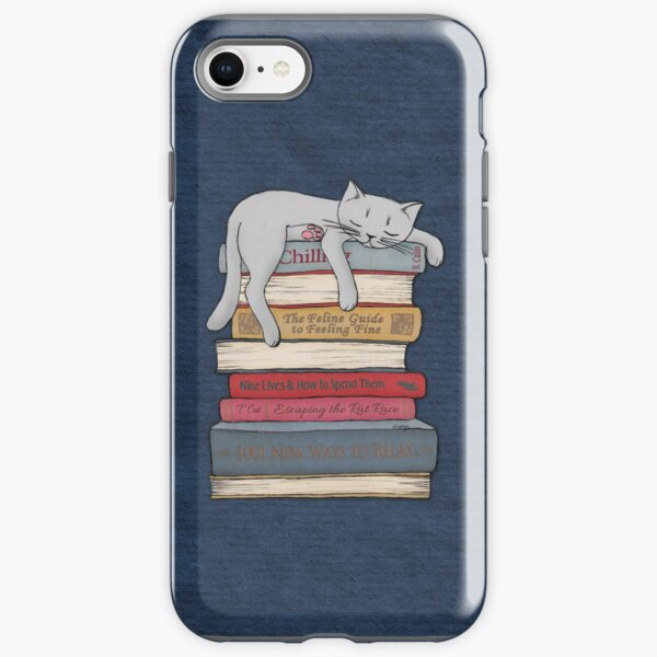 How to Chill Like a Cat iPhone Tough Case