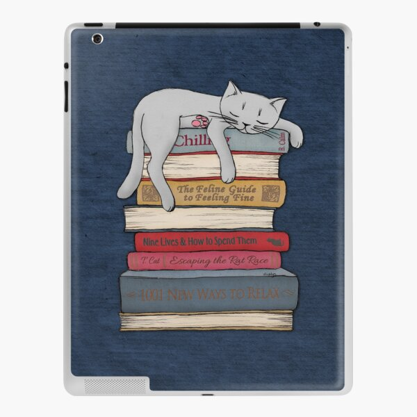How to Chill Like a Cat iPad Skin