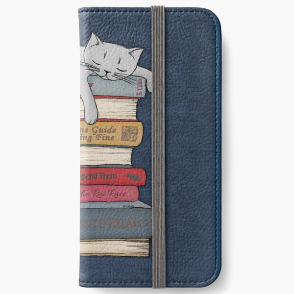 How to Chill Like a Cat iPhone Wallet
