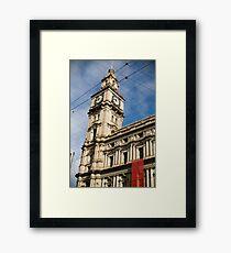 The Old Post Office Building, Bourke Street ,Melbourne Framed Print