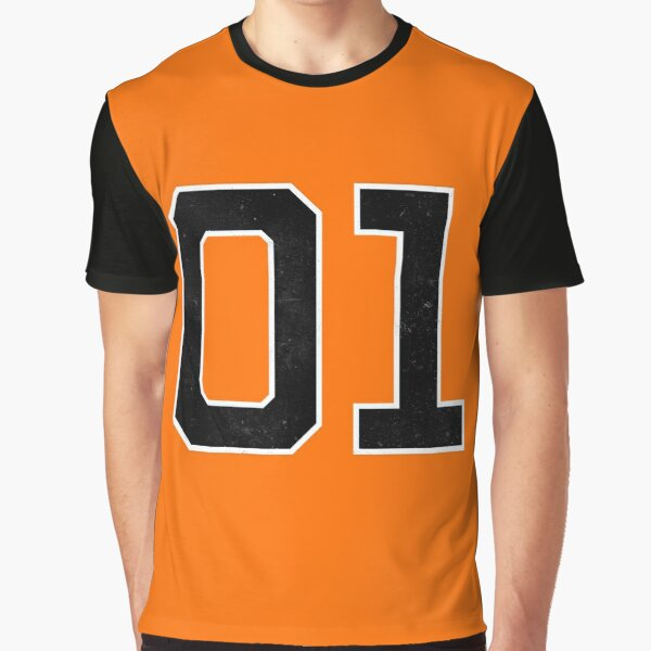 01 General Lee Nummer Grafik T-Shirt