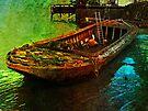 Rusting boat, Gravesend, Kent, UK by David Carton