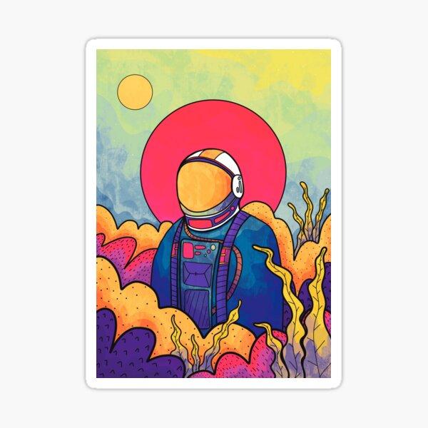 The planet explorer Sticker