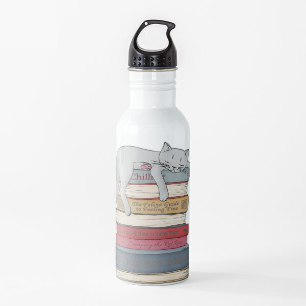 How to Chill Like a Cat Water Bottle