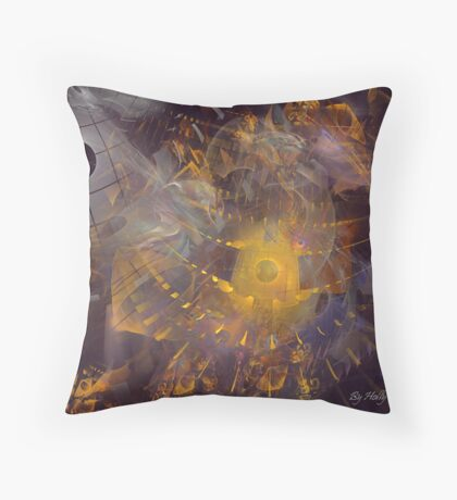 Mysteries Throw Pillow