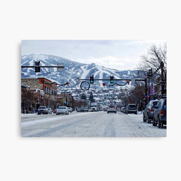 Steamboat Springs Colorado Canvas Print